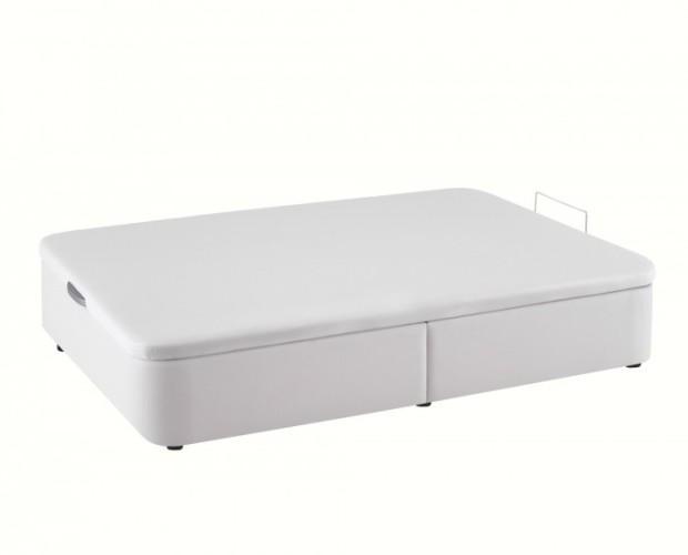 Canapé tapizado. La mejor solución si quieres una cama sólida, resistente y gran capacidad de almacenaje