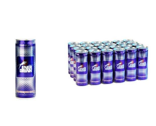 Bebidas energéticas. Elaborada con ingredientes de calidad