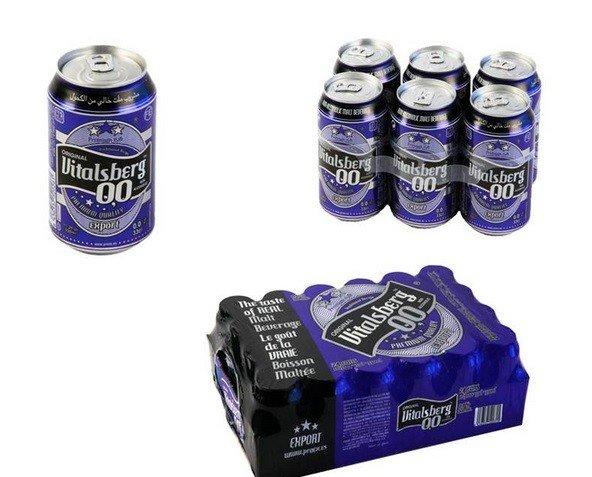 Cerveza sin alcohol. Cerveza Vitalsberg