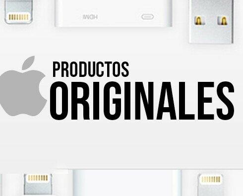 Productos Originales de Apple. Trabajamos con productos 100% Originales de Apple. Como cables, cargadores...