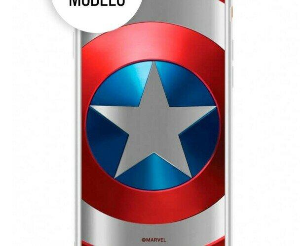 Funda Marvel Capitán América. Funda diseñada pensando en tu Apple iPhone XR