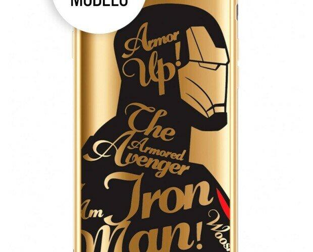 Funda Marvel Ironman. Ideal para Apple iPhone 7 Plus / 8 Plus