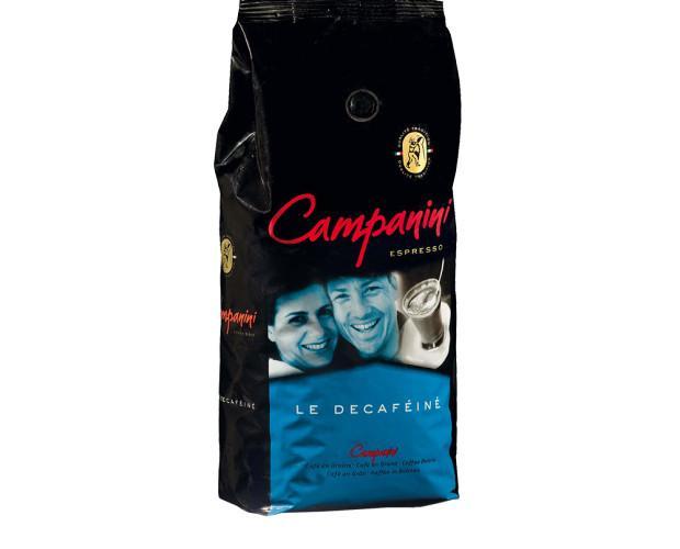 Campanini Descafeinado. 100% Descafeinado exquisito.