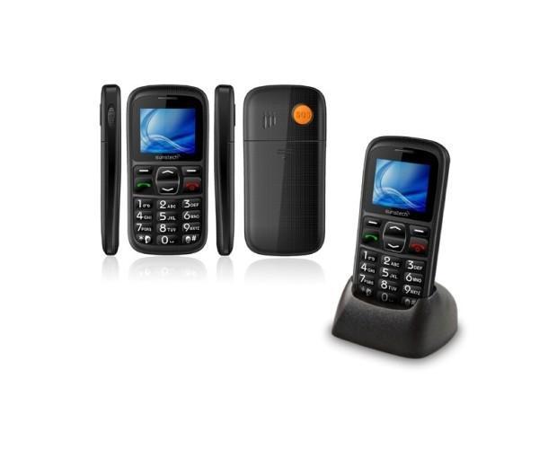 Teléfono móvil CEL10. Diseñado específicamente para personas mayores.