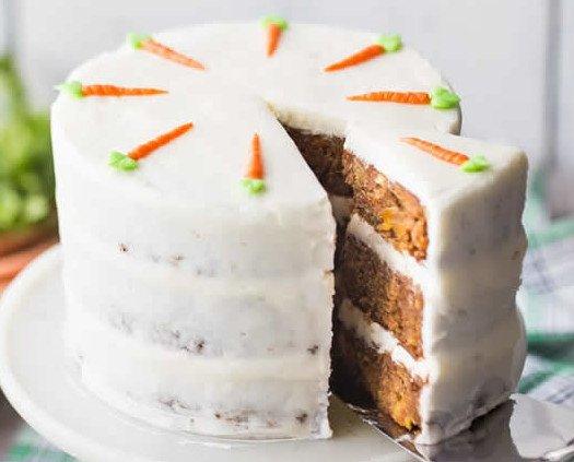 Carrot cake. Especialidad de la casa