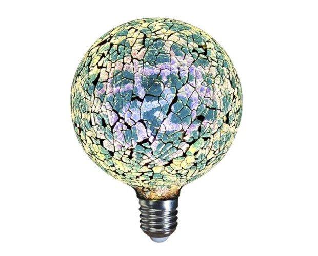 Lámparas de Mesa.Lampara Decorativa Filamento Led Globo Tiffany E27 4W 360º 230V Azul
