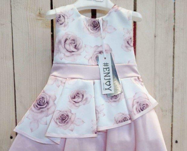 Vestidos Infantiles.28/5000 vestido elegante para niña