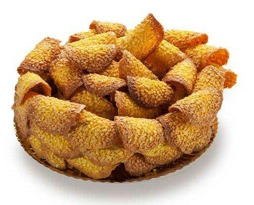 Tejas. Crujientes pastas de almendra que te sorprenden por su sabor y textura.