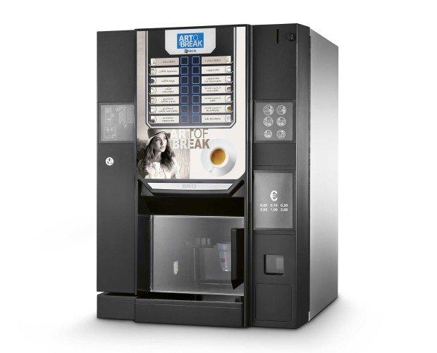 Vending Brio Up. Brio Up es una pequeña gran máquina destinada a ser reconocida como la mejor en su categoría.