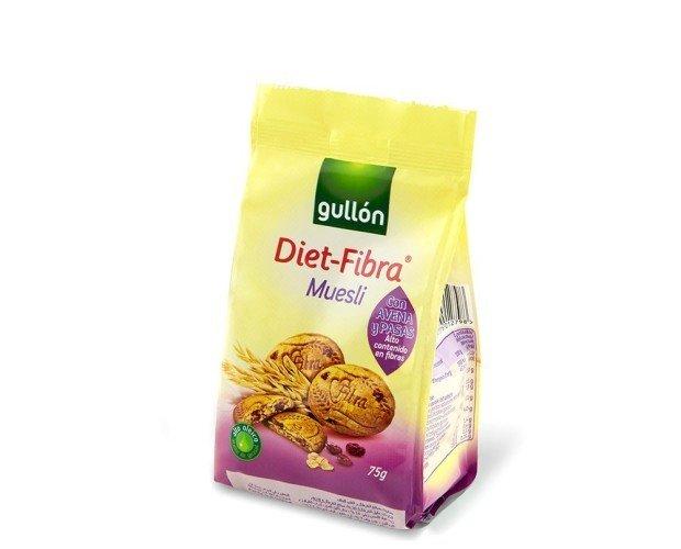 Diet-Fibra muesli. Ofrecemos productos alternativos saludables para vending