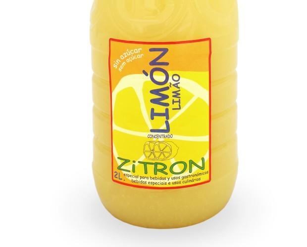 Zumos Concentrados.Concentrado de Limón 2l ZiTRON