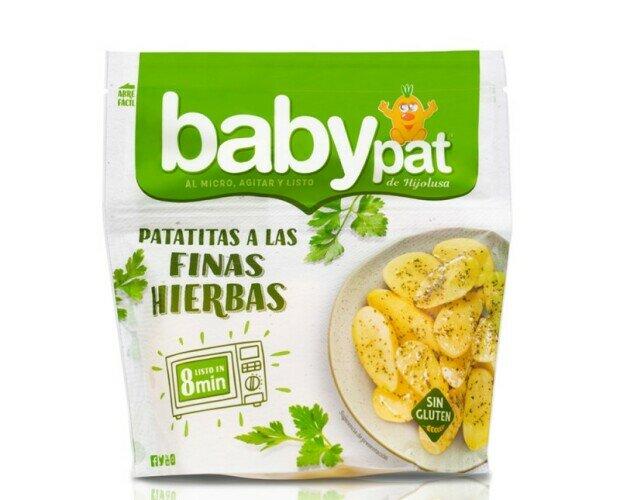 Patatas a las finas hiervas. Patatas a las finas hiervas directas al microondas