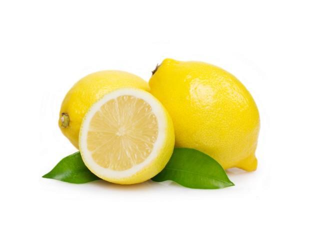 Limones. Alto contenido en Vitamina C