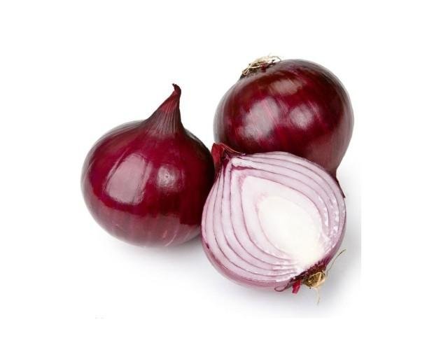 Cebolla roja. Cebolla roja bolsas de 1Kg