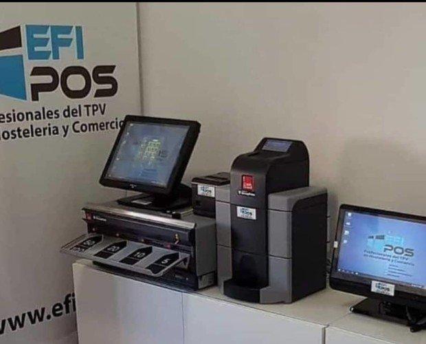 TPV. Sistemas TPV compactos y gestión inteligente efectivo Cashguard Efipos