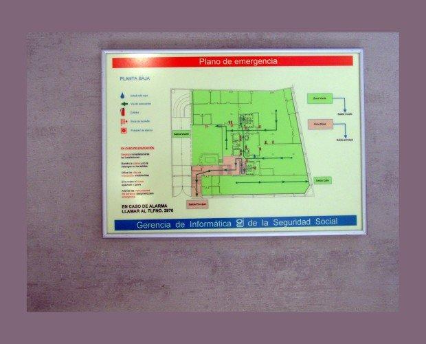 Plano de Evacuación. Se realizan conforme a la UNE 23032