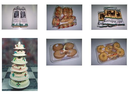 Bollería y panadería. Bollería, tartas y pan