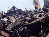 residuos de metal