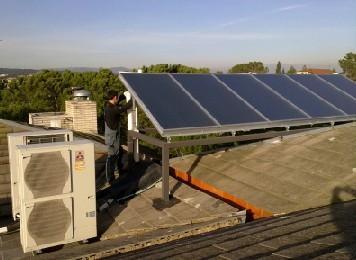 Instaladores de Sistemas de Energía Renovable.Placas solares térmicas