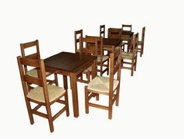 Mesa, sillas anea