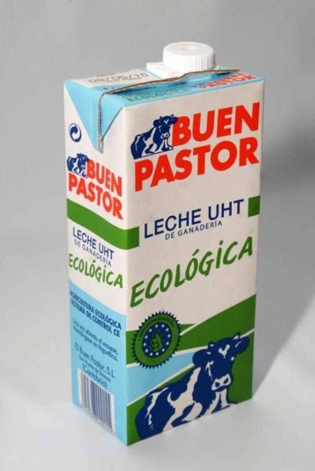 Leche ecológica. Leche ecológica El Buen Pastor