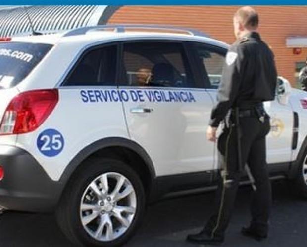 Seguridad en Naves y Edificios Industriales.seguridad con vigilantes