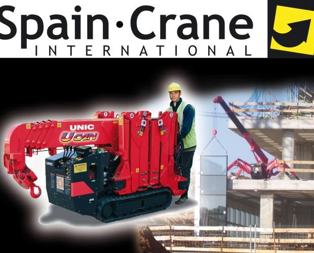 Spain Crane International. Distribuidor de mini grúas