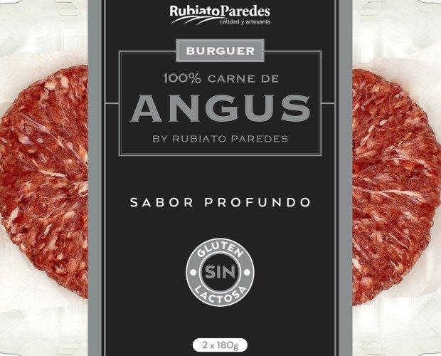 Bandeja 2 hamburguesas Angus. Bandejas de las mejores hamburguesas Angus