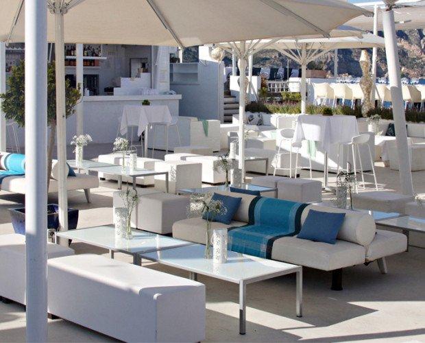 Mobiliario terraza. Mobiliario para terrazas