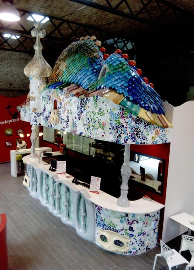 Barras de Bar.Reproducción para un restaurante