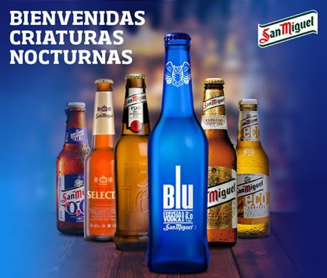 Cerveza con alcohol. Cervezas San Miguel