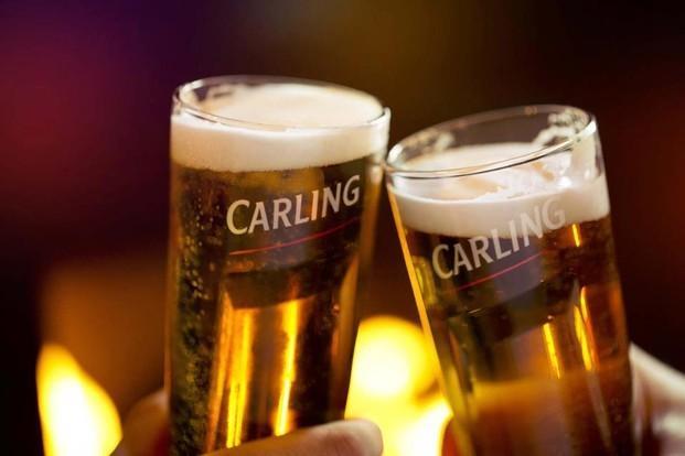Cerveza de importación. Carling