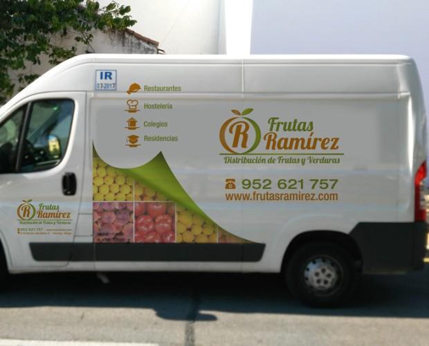 Proveedores de frutas y verduras. Flota vehículos