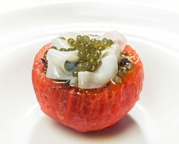 Conservas de Frutas.Tomate con relleno gourmet