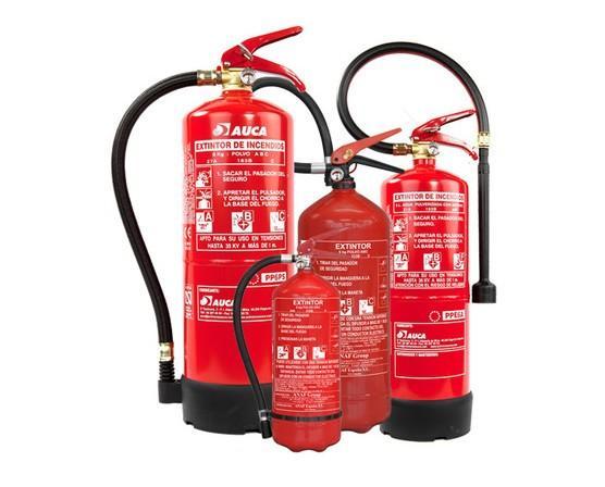Extintores. Somos especialistas