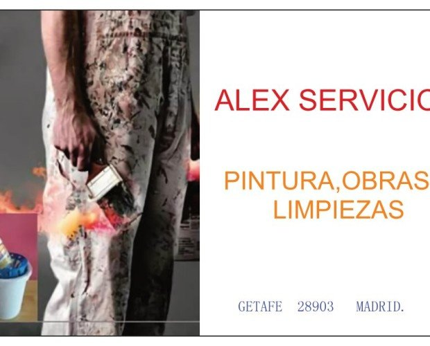 Alex Servicios.. En Alex Servicios somos proveedores de varios servicios de obra y reforma.