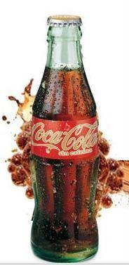 Refrescos Coca-Cola. Coca Cola, Fanta, Sprite, Schuss