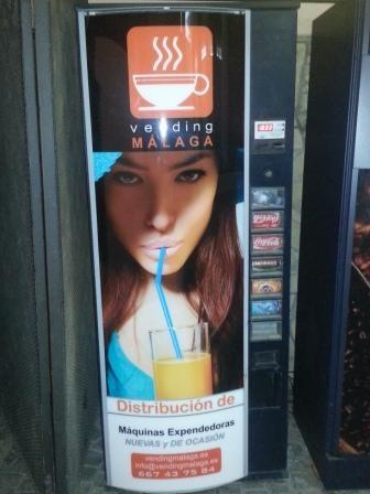 Vending refrescos. Máquina de refrescos