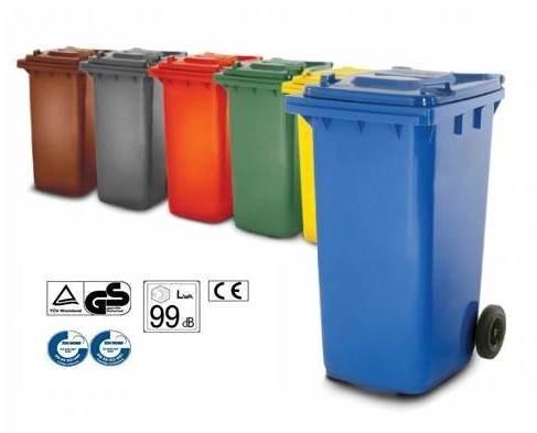 Contenedores Higiénicos.Contenedores de basura de 240 Litros