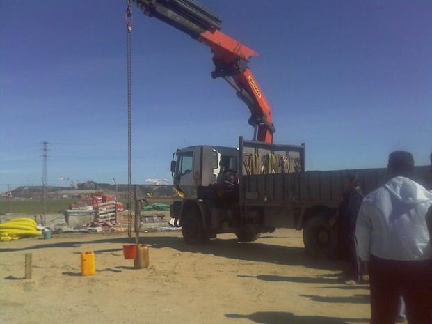 Formación para Maquinaria de Obra Pública y Construcción.Cursos de grúa hidráulica articulada todos los dias