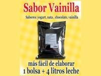 Proveedores Yogur de vainilla