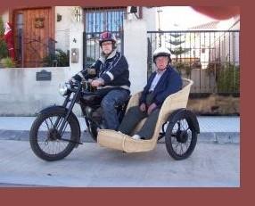 Velosolex. Alquiler de bicicleta antigua