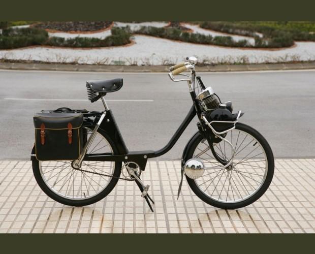 Belosolex. Hermosa y clásica motocicleta