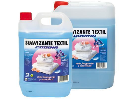 Suavizante Textil Codina. Confiere gran suavidad a los tejidos