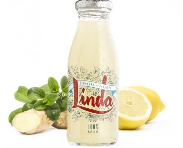Linda limón. Disfruta de esta refrescante limonada al estilo tradicional pero con un toque especial de jengibre y stevia.