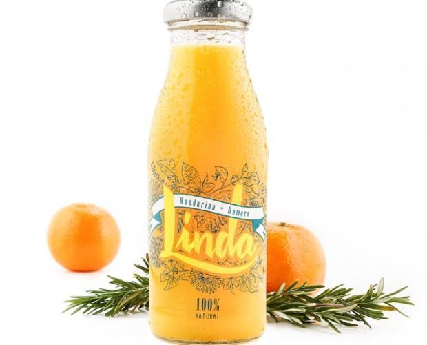 Linda mandarina + romero. Delicioso sabor