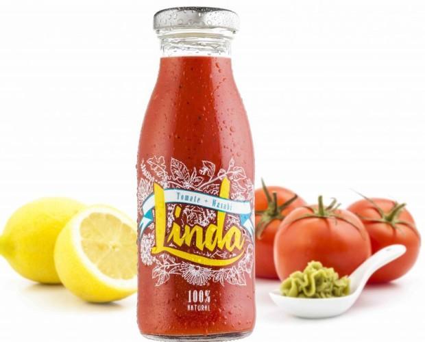 Linda tomate. Es perfecta para tomar como aperitivo