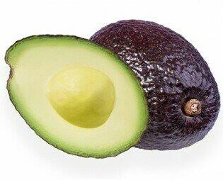 Aguacate variedad Haas. Contiene niveles altos de ácido graso Omega 3. Impulsa el crecimiento.
