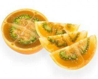 Lulo o Naranjilla. El lulo es una fruta exótica de pulpa jugosa, sabor agridulce y color verde,