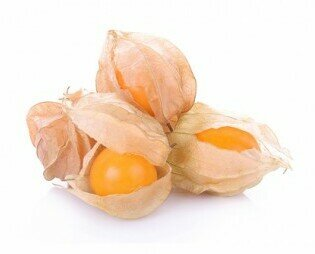 Uchuva O Physalis. Considerado un superalimento, baja en calorías es empleada para bajar de peso
